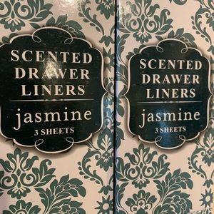 2 sets Scented Drawer Liners - Jasmine
